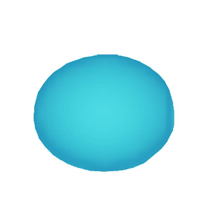 Nummernschildabdeckkappen-Set | Blau | 100 Stck. | passend für M5 / M6 / 4,8 / 5,8 mm