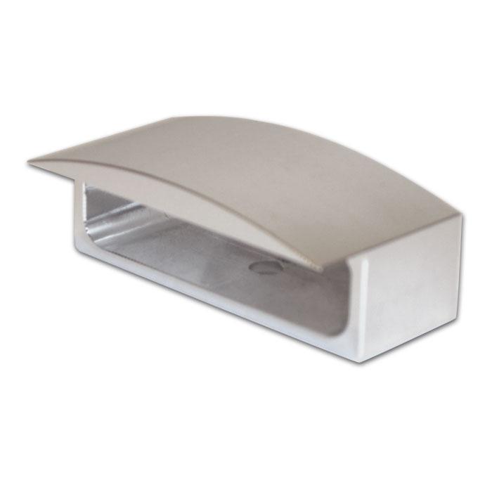 Gehäuse für LED-KZB 284344 Trio | Alu | Silber | B 48,5 x H 13 x T 22 mm | Lochabstand: 32 mm