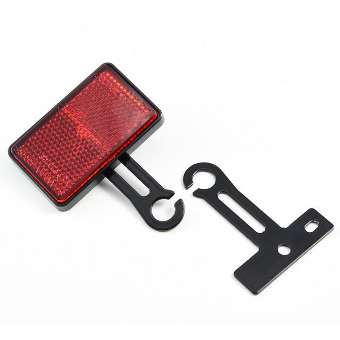 Halter-Set für Reflektor am Blinker M10, E4-Norm, Paar, *** Achtung ohne Reflektor ***