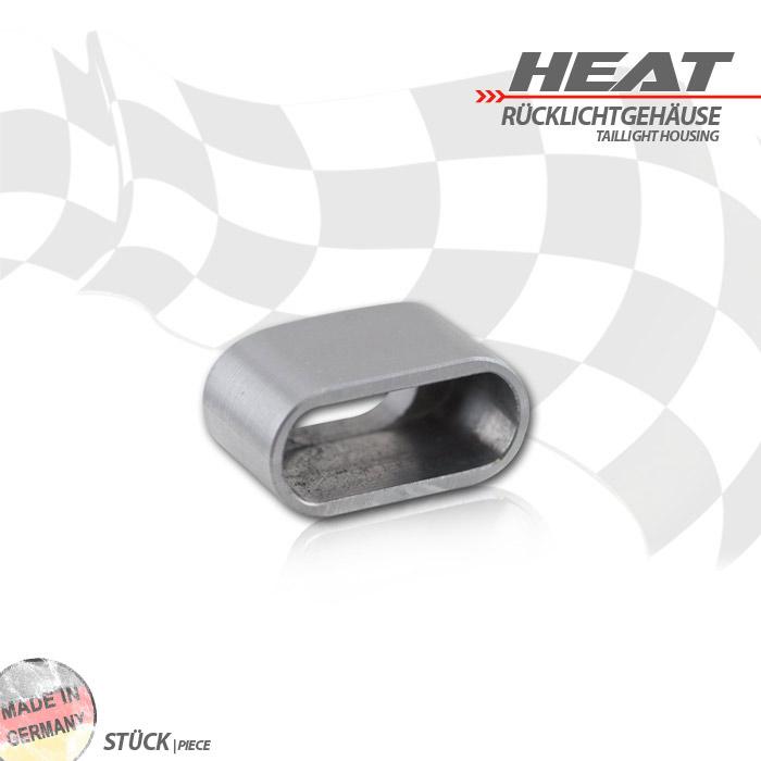 """Einschweissgehäuse für LED-Einbaurücklicht, 284088 / 284089 """"Heat"""", Maße: B 24,5 x H 12 x T 15mm"""