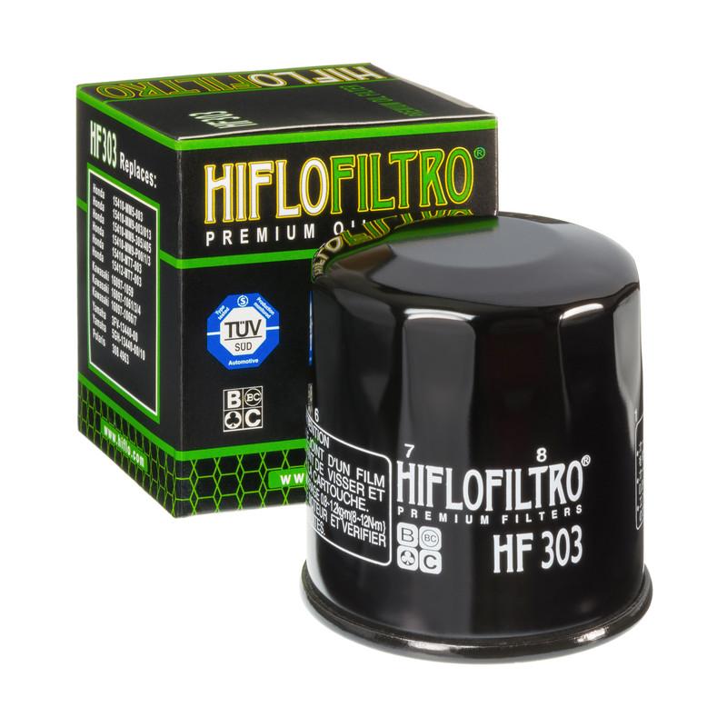 Hiflo Ölfilter HF303C Chrom Passt auch an  Access / Triton 700