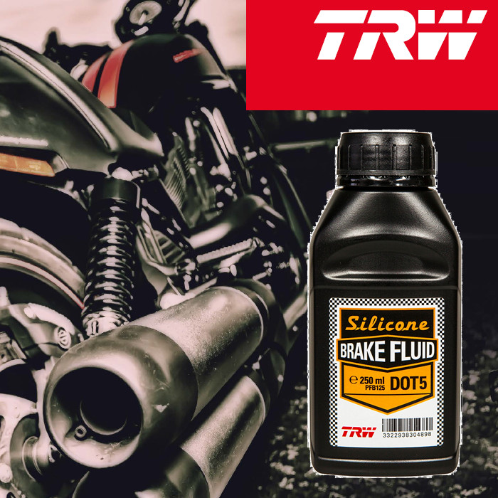 Bremsflüssigkeit DOT 5, TRW, (Silikon), 250 ml