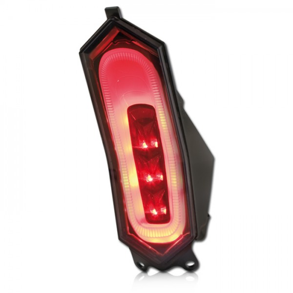 LED-Rücklicht Yamaha YZF-R1000 R1/R1M  Bj. 15-, YZF-R600 R6 Bj. 17-, getönt, E-geprüft