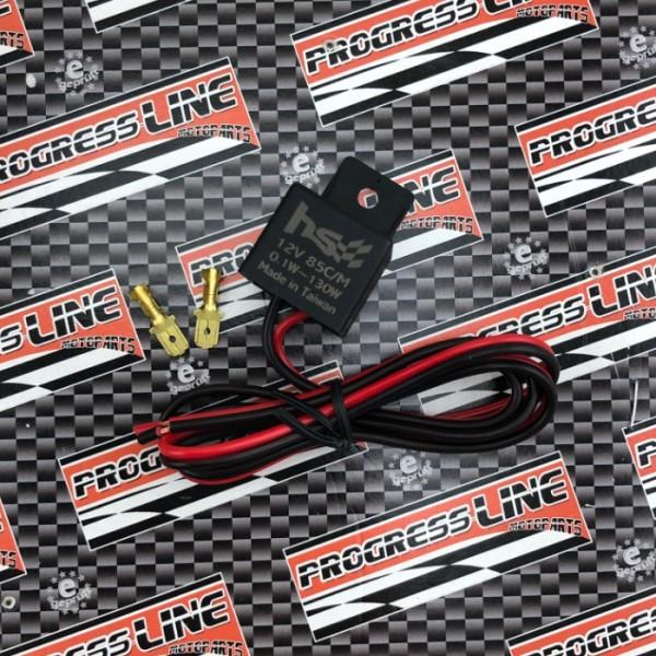 Blinkrelais | 12V | 1-130W | 2P | Logo | LED | z.B. GSX-S/R125 | GSX-S1000 | SV650 | Ninja 400