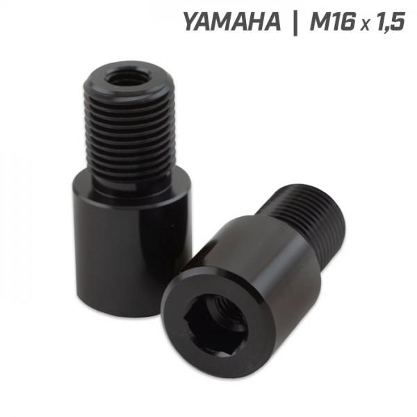 Adapter Lenkergewicht | Yamaha MT-125-07-09-10 | Paar | M8 / M16 x 1,5mm | L 41 x 21mm