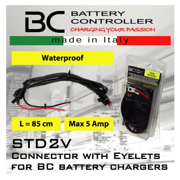 Batterie-Verbindundskabel mit Ösen, wasserdicht, (STD2V)