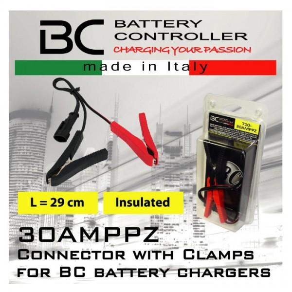 Verbindungskabel mit Klemmen für BC Ladegeräte, (30AMPPZ)