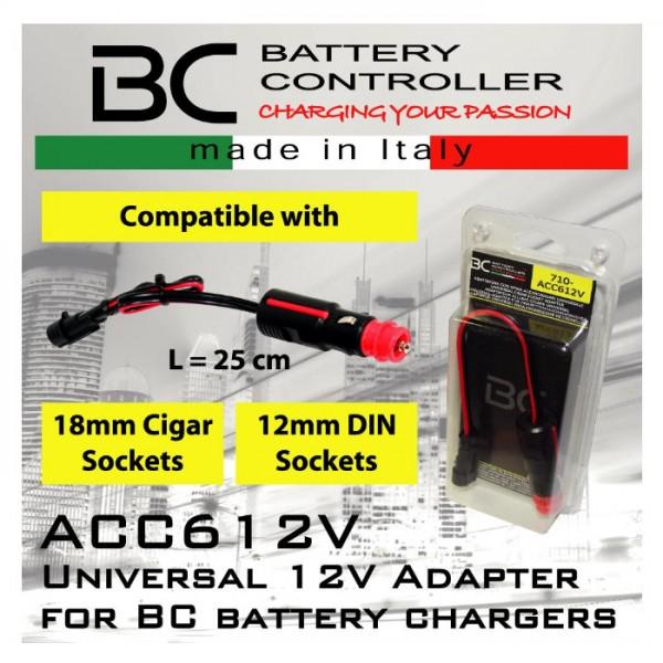 Universal-Adapter für Zigarettenanzünderbuchse, (ACC612V)