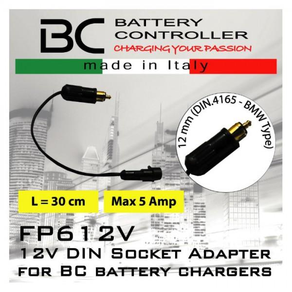 Adapter BC für BMW-Stecker 12mm DIN 4165, (710-FP612V)