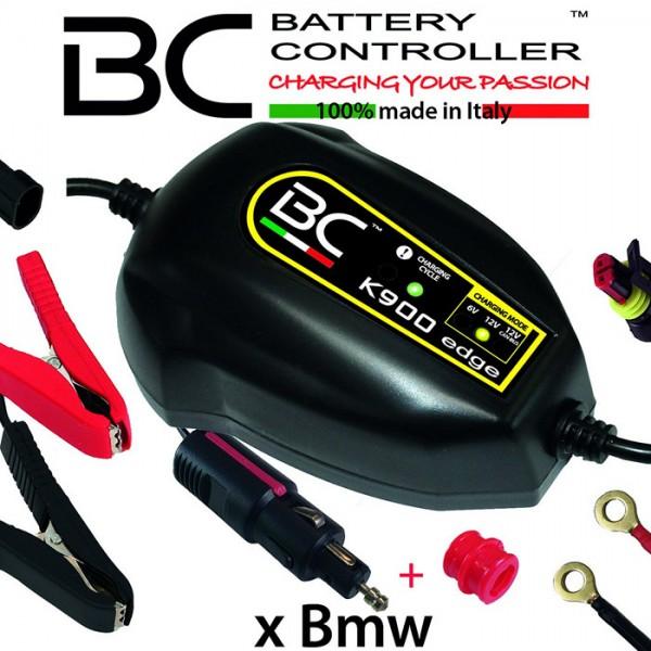 Batterieladegerät BC K900 EDGE, 6+12 Volt/CAN-Bus, Ladestrom: 1A / Batteriekapazität 1,2-100AH