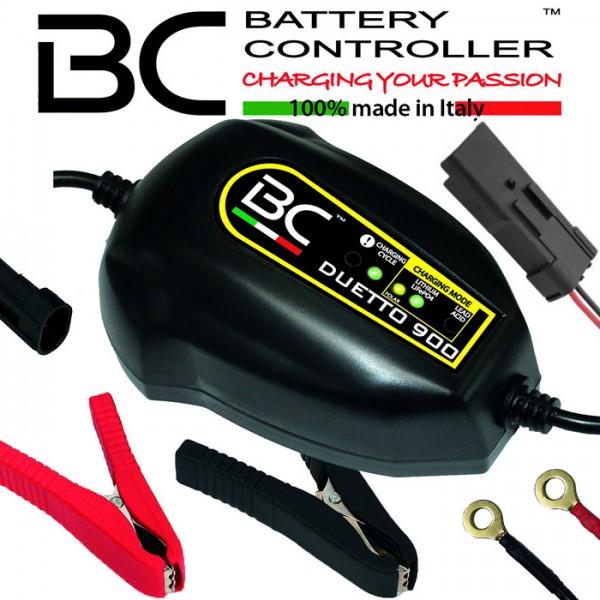 Batterieladegerät BC DUETTO 900 | +DDA Stecker | 12V | Blei/MF/LI | Ladestrom 1,5A  ***
