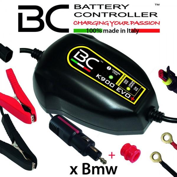 Batterieladegerät BC K900 EVO+,(12V) CAN-Bus+ LI Ladestrom: 0,9A / Batteriekapazität 1,2-100AH