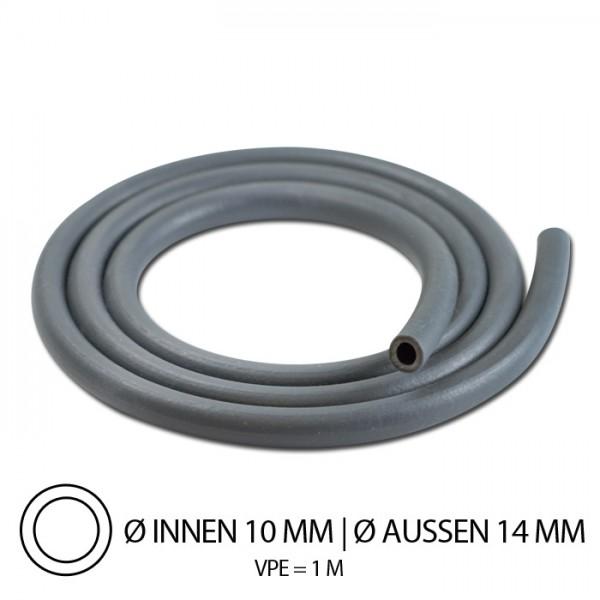 """Benzinschlauch """"Neopren"""", IØ=10mm x AØ=14mm, Gesamtlänge: 1m, ( hitzebeständig bis 100°C )"""
